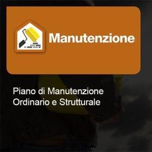 Manutenzione Piano ordinario e strutturale