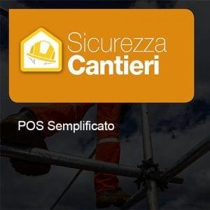 Sicurezza Cantieri pos semplificato