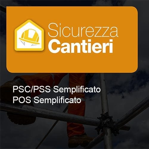 Sicurezza Cantieri psc pos semplificato