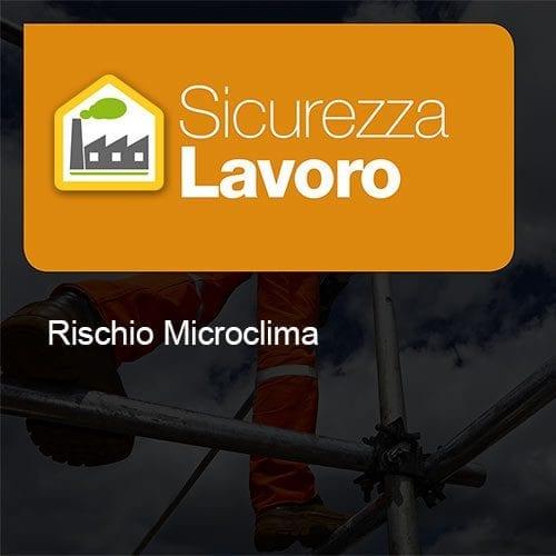 Sicurezza Lavoro rischio microclima