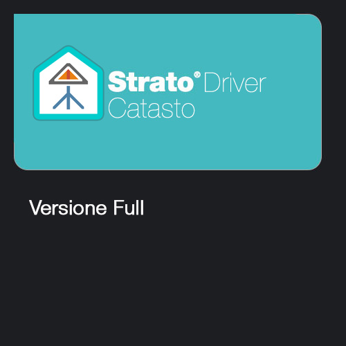 Strato Driver Catasto - Full
