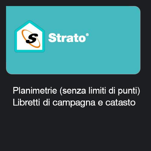 Strato - Planimetrie + Libretti di campagna e catasto