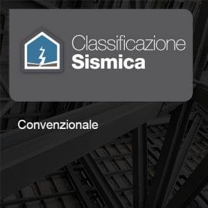 Classificazione Sismica Metodo Convenzionale