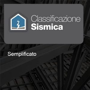 Classificazione Sismica Metodo Semplificato