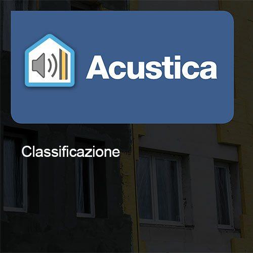 Acustica Classificazione
