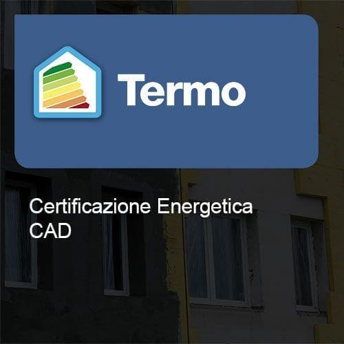 Termo certificazione cad