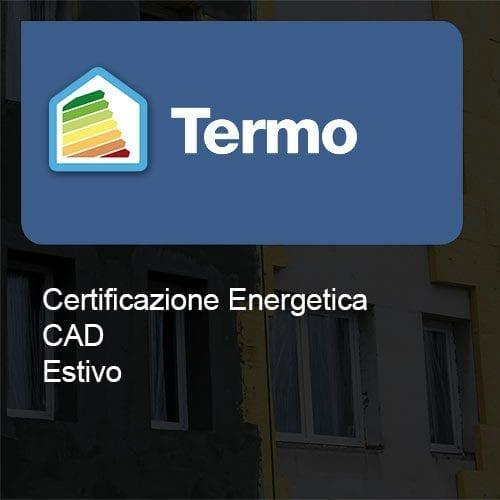 Termo certificazione cad estivo