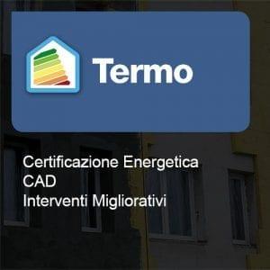 Termo certificazione cad interventi