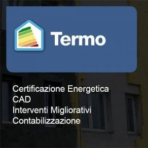 Termo certificazione cad interventi contabilizzazione
