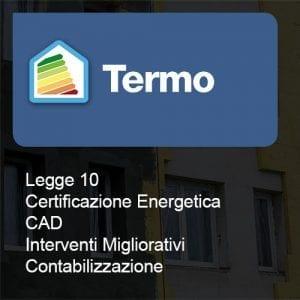 Termo legge10 certificazione cad interventi cont
