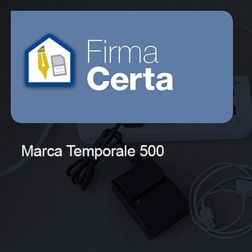 Marca temporale 500