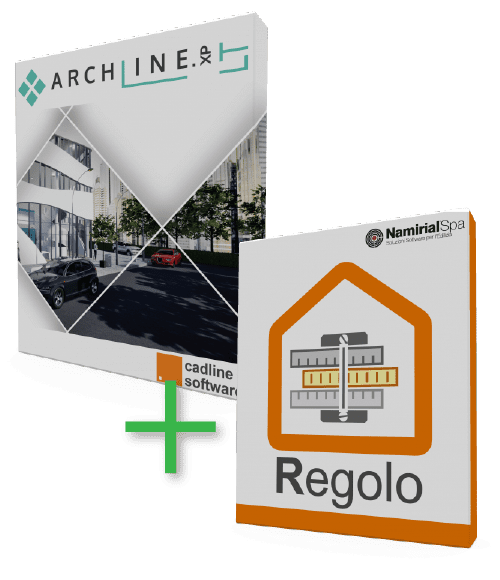Bundle ARCHLine.XP LT + Regolo
