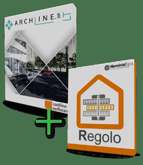 Bundle ARCHLine.XP LT + Regolo
